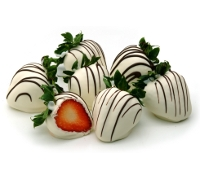 Everyday White Chocolate Strawberries 12ct