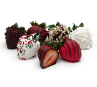 Holiday Chocolate Strawberries 12ct
